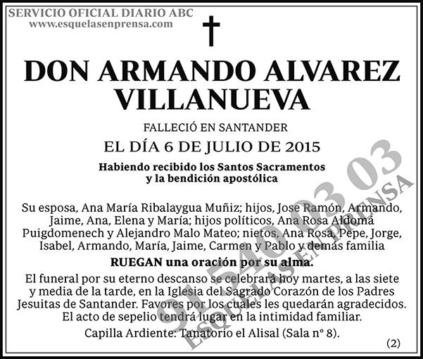 Armando Alvarez Villanueva